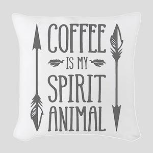spirit animal [2] Woven Throw Pillow